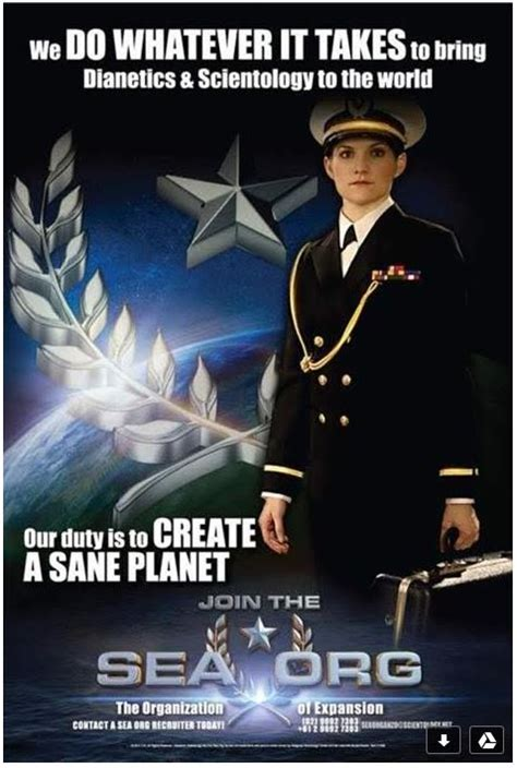 Why No One Should Ever Join Scientology's 'sea Org' « The