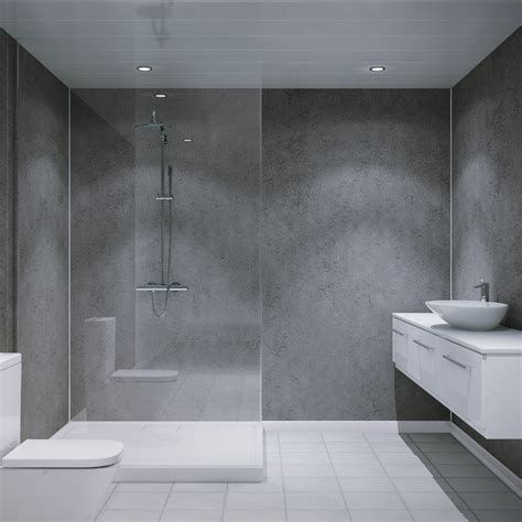 multipanel classic textured cool mica unlipped bathroom