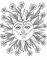 Coloring Sunshine Pages Sun Printable Happy Getcolorings Vector sketch template