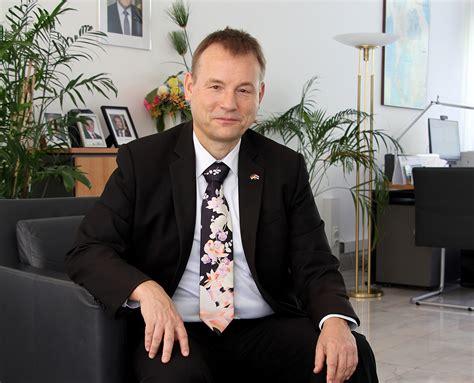 Man of the Month - H.E. Georg Schmidt - German Ambassador ...