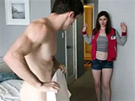 Teen Caught Brother S Friend Spying On Her While Changing Fuqer Video
