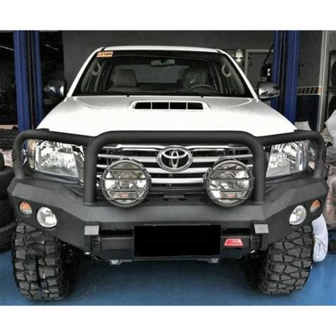 rocker front bar suitable  toyota hilux