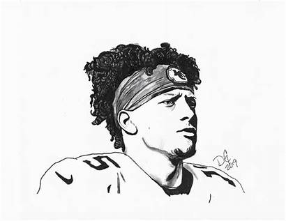Mahomes Drawing Did Weekend Thought Guys Would