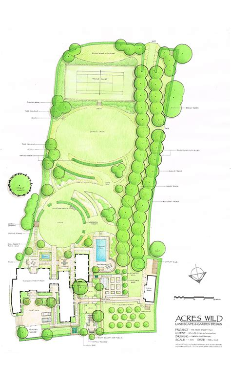 acres wild masterplan rural retreat acres country garden design and master planning