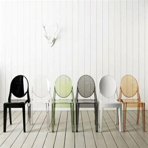 chaises transparentes conforama pourquoi choisir la chaise design transparente