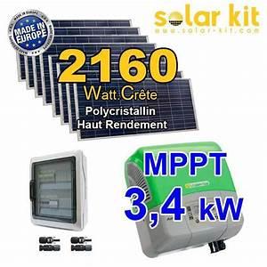 Kit Panneau Solaire Autoconsommation : kit solaire autoconsommation 21600wc europe ~ Premium-room.com Idées de Décoration