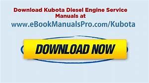 Kubota Diesel Engine Service Manual