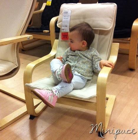 fauteuil pour bebe ikea un fauteuil pour minipuce le poang