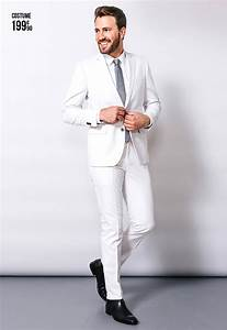 Costume Homme Mariage Blanc : tenue mariage homme hipster ~ Farleysfitness.com Idées de Décoration