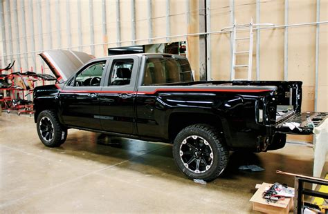 building  custom bed    chevy silverado