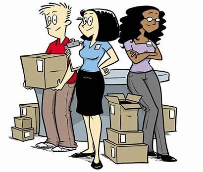 Retail Norm Comic Employee Strip Cartoons Handbook