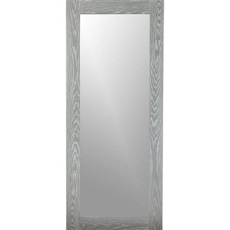 floor mirror grey hanging leaning grey 32 quot quot x76 quot quot floor mirror floor mirrors grey wood and floors