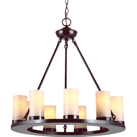 single chandelier sea gull lighting ellington 9 light burnt single