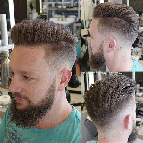 silked  haircuts  full beard menhairdos