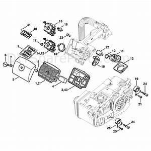 Stihl 020 Chainsaw  020t  Parts Diagram  Air Filter