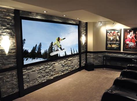 Inspiring Home Theater Design Best Collection From