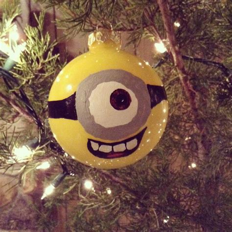 minion christmas ornament diy life pinterest diy
