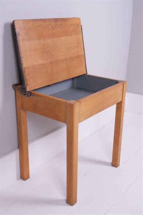 desk with lift lid children 39 s vintage esavian single desk with lift up