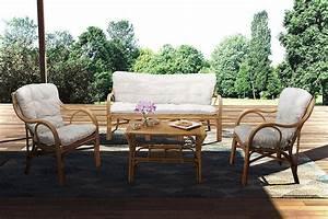 Salon De Jardin Bambou : salon en bambou elim salon en bambou avec canap table et ~ Teatrodelosmanantiales.com Idées de Décoration