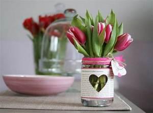 Blumengestecke Selber Machen Ideen : tischdeko mit tulpen festliche tischdeko ideen mit fr hligsblumen ~ Markanthonyermac.com Haus und Dekorationen