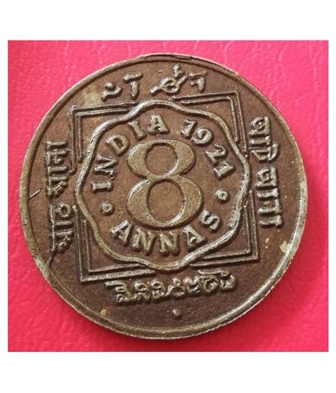 1921 8 ANNAS RARE CION: Buy 1921 8 ANNAS RARE CION Online ...