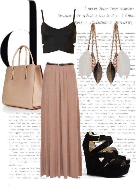stupendous  stylish polyvore outfits  crop tops