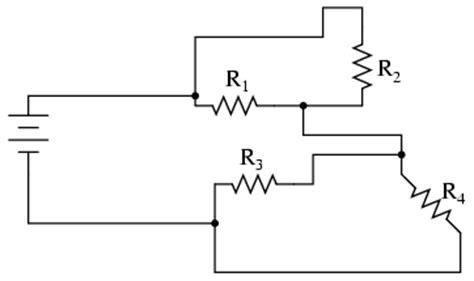 drawing complex schematics series parallel