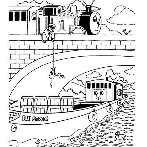 Kleurplaat Trein Met Wagonnetjes by Leuk Voor En Bulstrode Het Vrachtschip