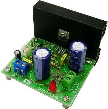 Audio Amplifier Circuit Based Tda