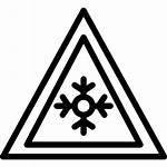 Ice Icon Icons Signal Traffic Warning Flaticon