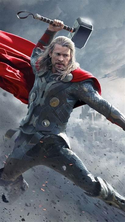 Thor Superhero Hemsworth Chris Mobile 4k Ultra