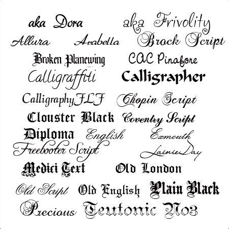 fancy calligraphy fonts   cameo calligraphy