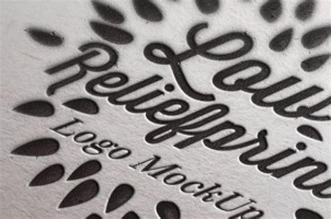 showcase  logo   great letterpress psd logo