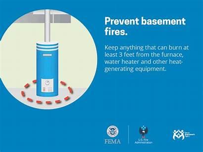 Fire Safety Fema Basement Fork Department Sheets