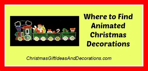buy animated christmas decorations  outdoors