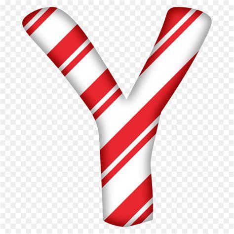 candy cane letter alphabet santa claus christmas letter