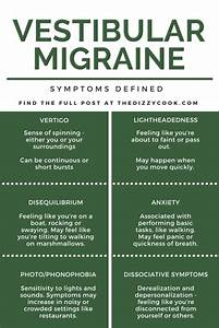 Common Vestibular Migraine Symptoms