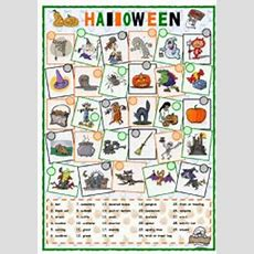English Exercises Halloween