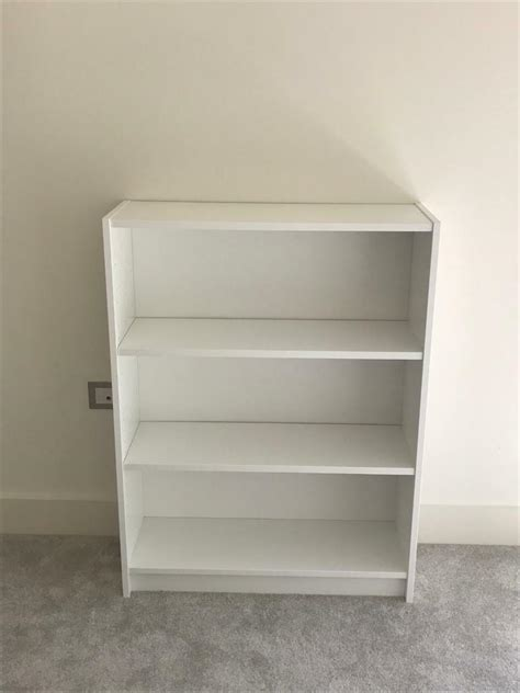 White Billy Bookcase Ikea by Ikea Billy Bookcase White As New In Poole Dorset Gumtree