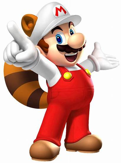 Mario Fire Raccoon Super Bros Fantendo Clipart