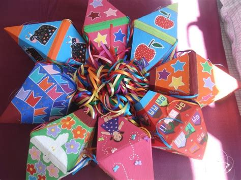 papier mache gift wrapping gifts