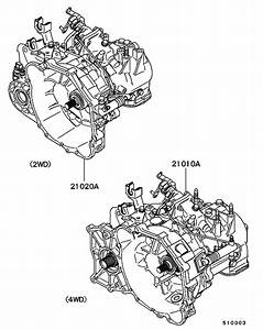 Manual Transmission Assy For 1995