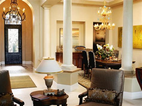 traditional formal dining room and living room hgtv