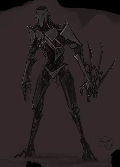 warforged assassin  halycon  deviantart