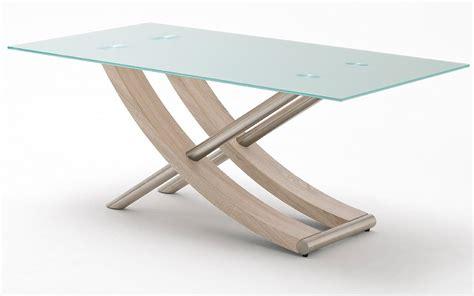 table a manger verre et bois pin table 224 manger en bois et verre on