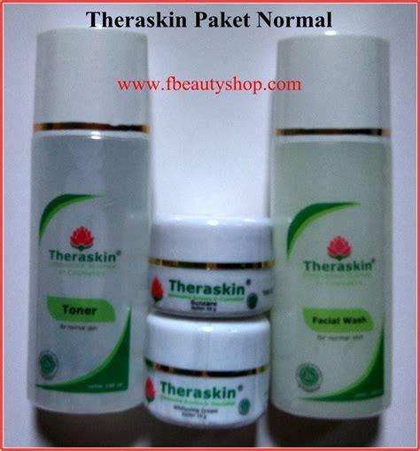 Ret Acne Theraskin theraskin paket normal acne dan paket flek