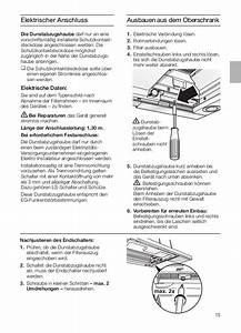 Dunstabzugshaube Einbau Oberschrank : manual siemens campana extra ble li46931 ~ Michelbontemps.com Haus und Dekorationen