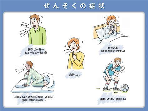 咳 喘息 症状