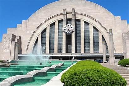 Museum Center Cincinnati Fountain Water Union Terminal