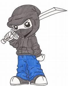Hoodie Ninja by EZola on DeviantArt
